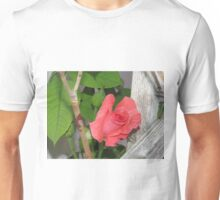 Coral Country Rose Unisex T-Shirt