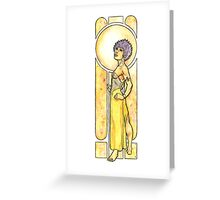 Jaune Greeting Card