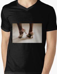 Dancing feet Mens V-Neck T-Shirt