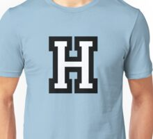 Letter H two-color Unisex T-Shirt