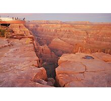 Skywalk, Grand Canyon Western Rim USA National Park Arizona  Photographic Print