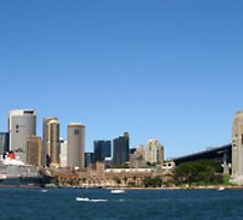 Sydney Harbour Panoramic by Richard Cassar