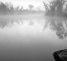 Misty Lake by Bill Spengler