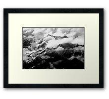 The Italian Alps Framed Print