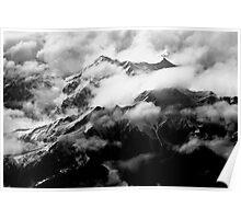 The Italian Alps Poster