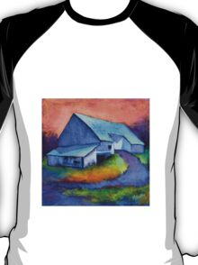 Gauguin's Barn Revisited, from original pastel by Madeleine Kelly T-Shirt