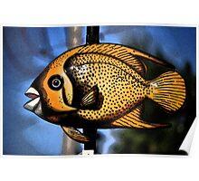 Fish al Fresco Poster