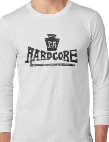 Pennsylvania Hardcore Long Sleeve T-Shirt