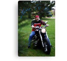 Born To Ride Canvas Print