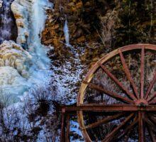 Idaho Springs Water Wheel Sticker
