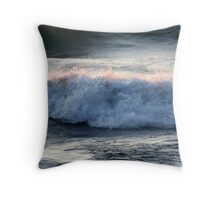 Catching the Evening Rays Throw Pillow