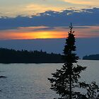 Keweenaw Sunset by Karen K Smith