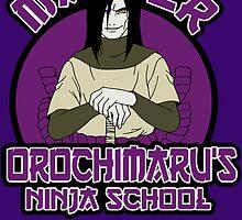 Master Oro's Ninja academy by edcarj82
