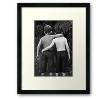 The Boys! Framed Print