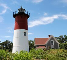 Nauset Light Cape Cod by Ron LaFond