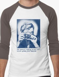 Grab your camera! Men's Baseball ¾ T-Shirt