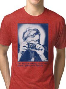 Grab your camera! Tri-blend T-Shirt