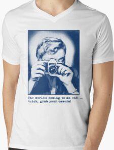 Grab your camera! Mens V-Neck T-Shirt