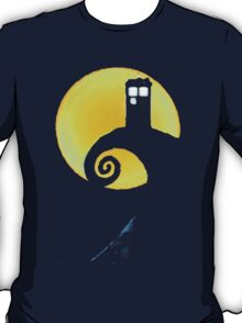 The Police Box Before Christmas T-Shirt