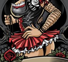 Black Witch Sticker