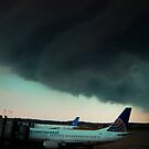 Shelf Cloud Slams Pittsburgh International by MattGranz