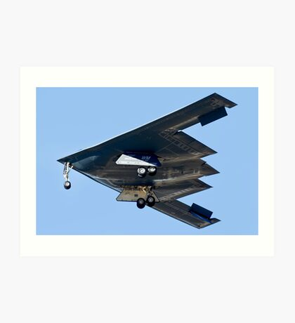 Spirit of Missouri B-2 Stealth Bomber Art Print