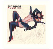 The Stars: Ryuu-ko Art Print