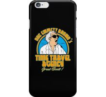 Time travel agency iPhone Case/Skin