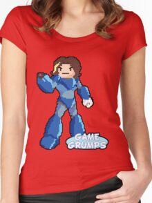 Mega Grump (Arin) Women's Fitted Scoop T-Shirt