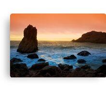 McClure's Beach Sunset Canvas Print
