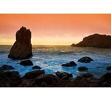 McClure's Beach Sunset Photographic Print