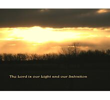 Our Light and Our Salvation Photographic Print
