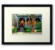 Savannah X-Mas Past... Framed Print