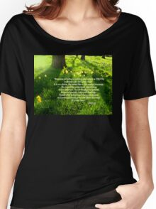 Gottheit ist die Seele Women's Relaxed Fit T-Shirt