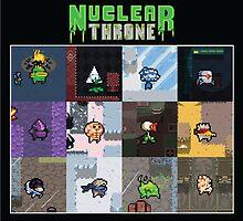 Nuclear Throne Characters by SydneyStunah