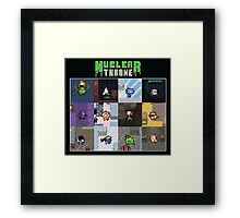 Nuclear Throne Characters Framed Print