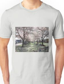 Impressionistic Spring Cherry Blossoms  Unisex T-Shirt