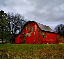 Old Salem Barn by Marylee Pope