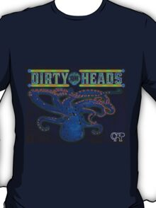 Dirty Heads Octopus Psychedelic Character Original Design by CAP T-Shirt