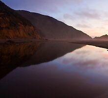 Beach Lagoon, California by MattGranz