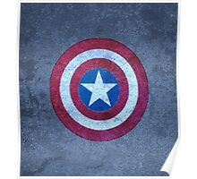 Shield of Captain A. Poster