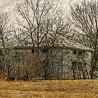 Interesting Barn Structure by Susan S. Kline
