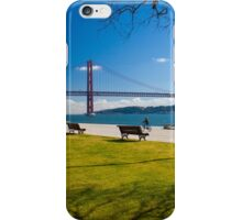 o rio tejo . Lisbon. bridge. tejo river. iPhone Case/Skin