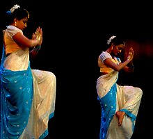 Indian Dance by Nalin K