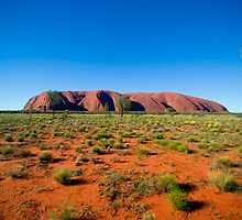 Uluru (Ayres Rock) by mattodd