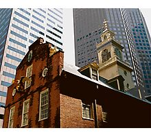 Old State House, Boston Photographic Print