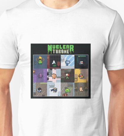 Nuclear Throne Characters Unisex T-Shirt