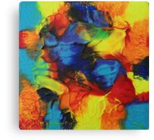 """Audacity"" original abstract artwork Canvas Print"