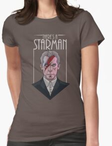 Doctor Who- Starman Womens Fitted T-Shirt