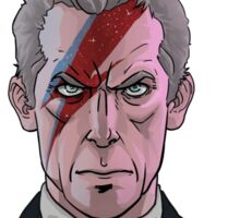Doctor Who- Starman Sticker